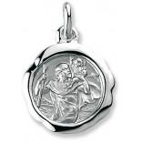 Médaille saint christophe à graver
